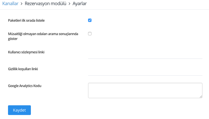 Google Analytics Kodu
