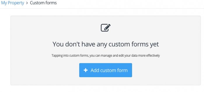 Adding Custom Forms